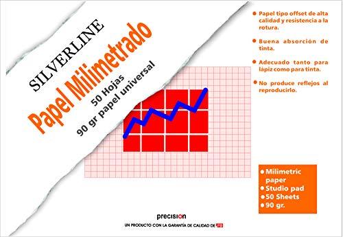 Block 50 Blatt DIN A4 Papier Millimeter 90 Gramm