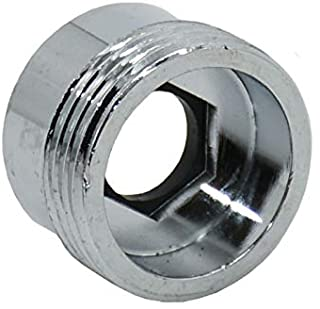 Metalen kraan Adapter, 1 Stks Beluchter Connector Kraan Adapter Vrouwelijke 18mm - 22mm voor Keuken Waterbesparende Waterf...