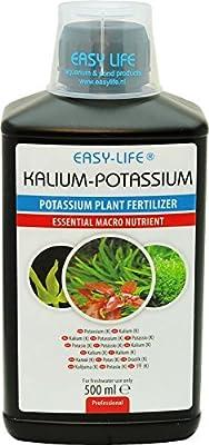 Easy Life Potassium Traitement de l'Eau pour Aquariophilie 500 ml