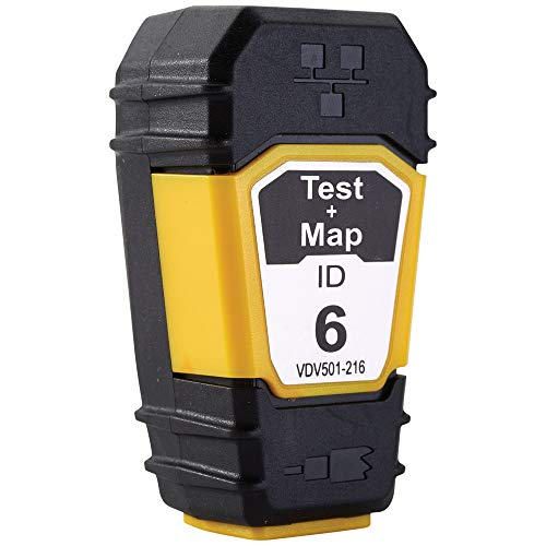 Klein Tools VDV501-216 Cable Tester Remote, Test + Map Remote #6 for Klein Tools Scout Pro 3 Cable Tester