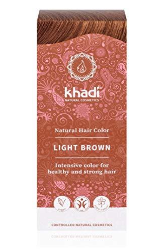 Khadi - Coloration aux plantes chatain clair