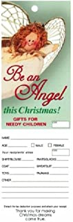 Christmas Angel Tags for Church or Organization Giving Tree (Pkg of 100)