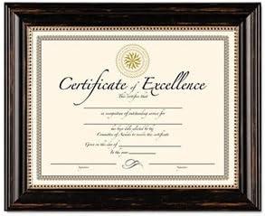 Burns Grp. Genova Frames-Certificate Frame 2