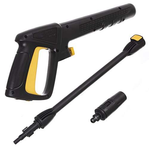 Pistole mit Lanze Einstellbare Düse für Hochdruckreiniger Black Decker Bosch AQT 8mm