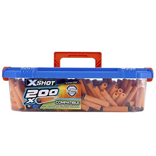 XShot Excel Universally Compatible Foam Darts Refill Box (200 Darts) by ZURU