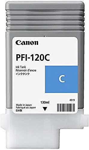 Canon PFI120C adatto per IPF TM200 Inchiostro ciano 2886C001 130ml