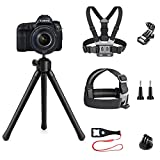 SmilePowo 8 in 1 Action Camera Accessory Kit Compatible with GoPro Hero 8 Max 7 6 5 4 3 3+ 2 1 Black...