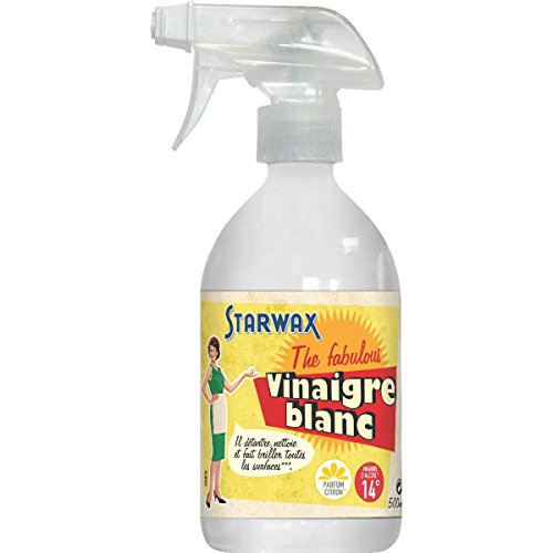 Starwax Vinaigre blanc 14° Parfum citron - Le spray de 500ml
