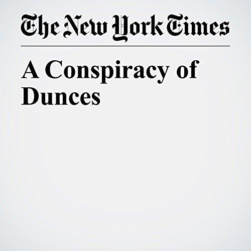 A Conspiracy of Dunces copertina