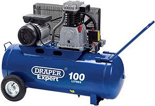 Draper 02857 100-Litre 230-Volt 2.2 kW Belt-Driven Air Compressor