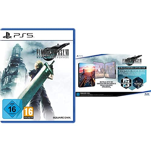 FINAL FANTASY VII REMAKE INTERGRADE (PS5) + EXCLUSIVE STEELBOOK