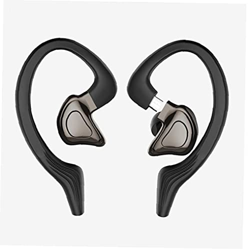 Sraeriot Manos Libres Auricular Inalámbrico Auriculares Estéreo Impermeable Tws Auriculares Con El Oído Desmontable Deportes Ganchos 1pair