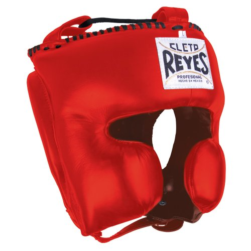 Cleto Reyes Classic Training Headgear, Red, Medium