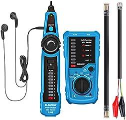 Wire Tracker, ELEGIANT lokalizator kabli tester RJ11 RJ45 Cable Tester Line Finder Wielofunkcyjny wykrywacz przewodów...