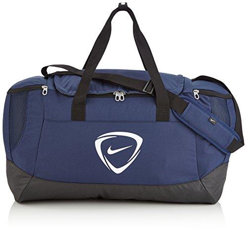 Nike Unisex Sporttasche Club Team, blau/schwarz/weiß, 53 x 37 x 37 cm, 52 Liter, 0883212061966