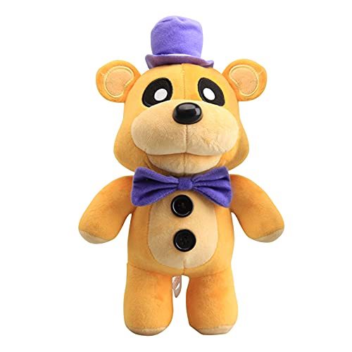 YLEAFUN FNAF Plushies Plush Figure Toys, Gifts for Five Nights at Freddys Fans 12 Inch Plush Toy - Stuffed Toys Dolls - Kids Gifts Freddy Fazbear Plush Toys Five Nights at Freddys