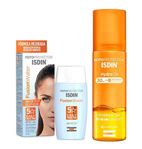 ISDIN PACK Protector Solar Facial Fusion Water SPF 50+...