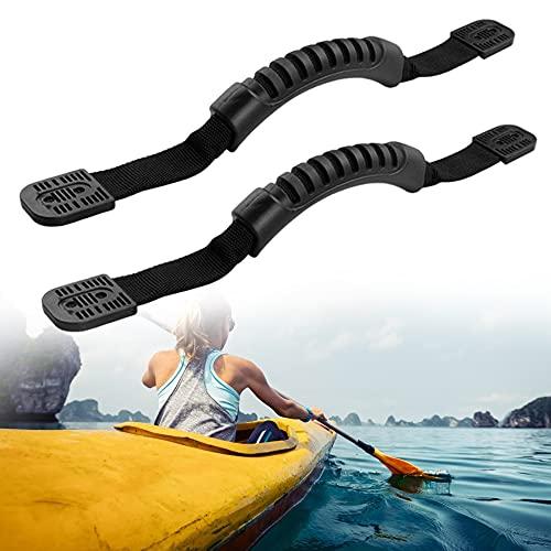 XAVSWRDE Asas para Kayak 2 unidades Asas Transporte Kayak con Diseño Antideslizante Manijas de Proa y Popa Asas Multifunción para Levantar El Kayak, Patinete Eléctrico, Maleta, Mochila o Más Objetos