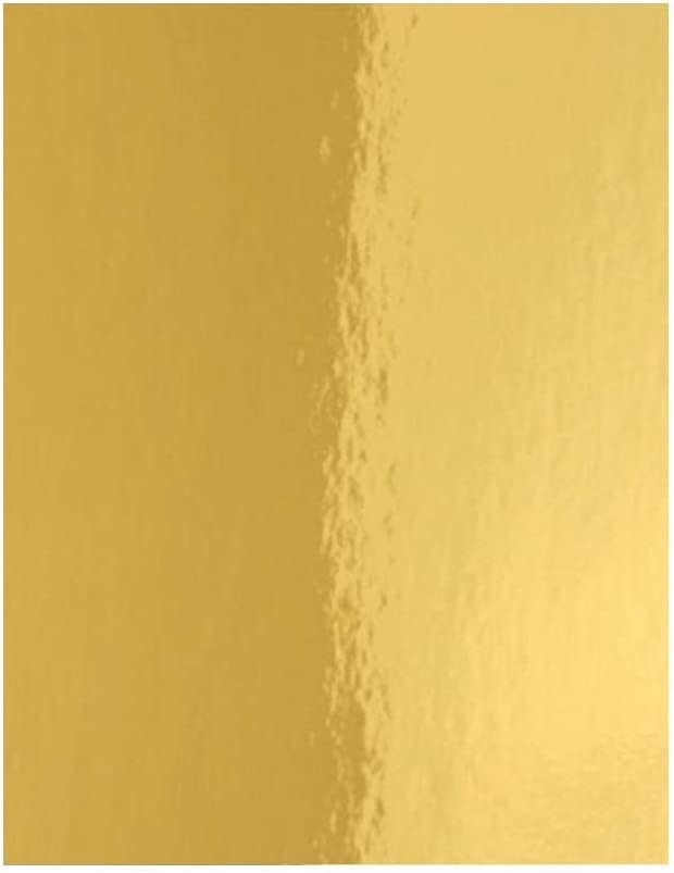 """Hygloss Products Mirror Board 20"""" Sheets Denver Mall 25 Gold 26"""" x Ranking TOP12"""