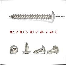 QWERTY 10 pezzi//lotto di titanio esagonale a testa svasata piatta M2 M2.5 M3 M4 M5 M6 Marca lunghezza: 30 mm, dimensioni: M6