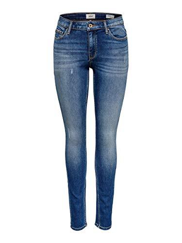 ONLY Damen ONLCARMEN REG SK JNSBB 5984-16 NOOS Skinny Jeans, Blau (Dark Blue Denim Dark Blue Denim), 26 /L32