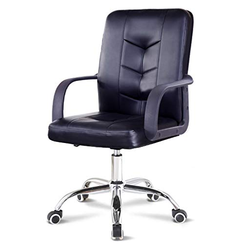 Home Office Swivel Black Chair,High-Back Desk Chair with Lumbar Support Height Adjustable,360 Degree Swivel