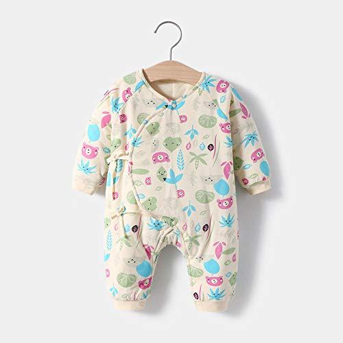 Sommerschlafsack,Herbst und Winter gesteppte Baby einteilige Baumwollkleidung,...