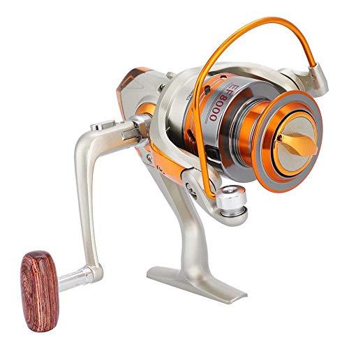 Carretes de Pesca Carrete Giratorio de Pescar Duradero de Perfil Bajo para Pesca en Hielo Agua Salada Pesca de Agua Dulce Regalo(EF5000)