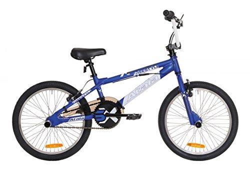 Atala X-Street BMX-Fahrrad, 1 Gang, Blau und Weiß
