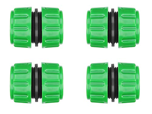 CaLeQi 4 Pack ABS Plastic Hose Repair Connector Quick Fix Extend Connector...