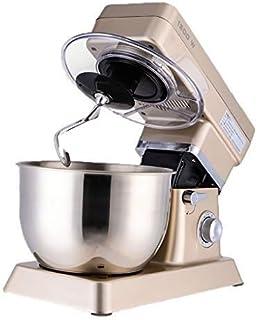 Batteur d'œufs de mixage à la main, mélangeur de la pâte Mélangeur Mélangeur en acier inoxydable Tête d'inclinaison à 10 v...