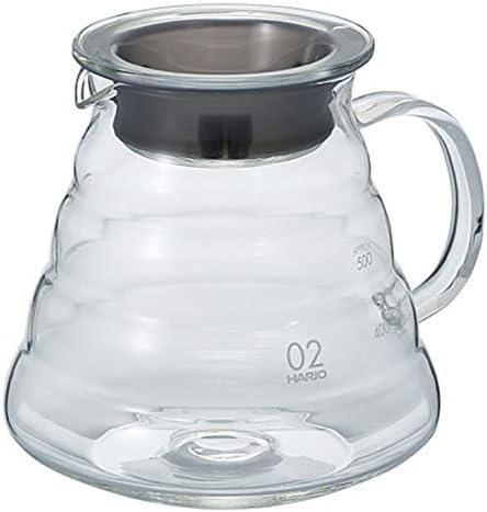 "Hario V60""Clear"" Glass Range Coffee Server, 600ml"