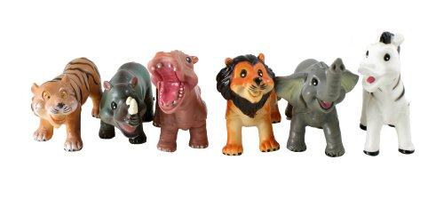 Peterkin - Set de figurines d'animaux sauvages pour bébé