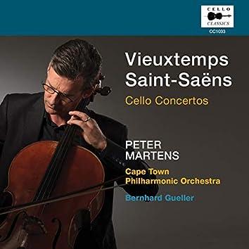Vieuxtemps, Saint-Saëns & Fauré: Cello Works