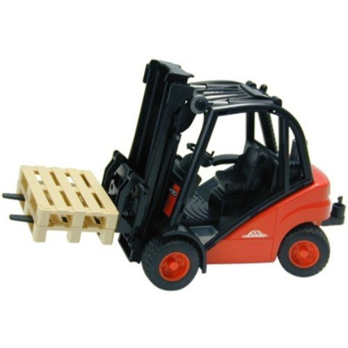 Bruder Toys Linde H30D fork Lift with Pallet by Bruder