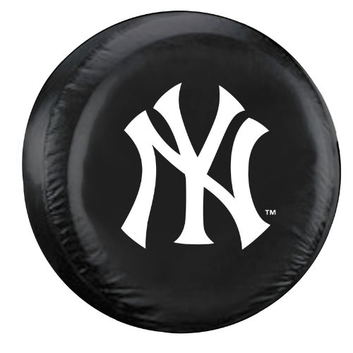 New York Yankees MLB Spare Tire Cover (Black)