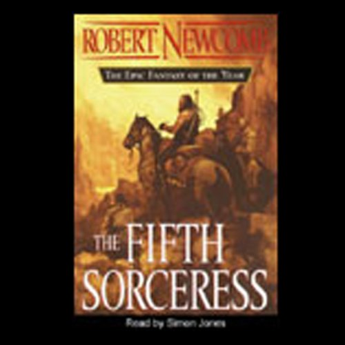 The Fifth Sorceress audiobook cover art