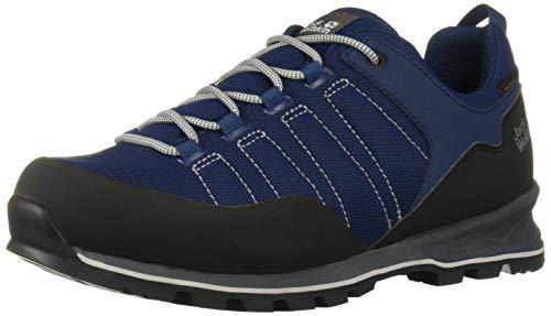 Jack Wolfskin Herren Scrambler LITE Texapore Low M Trekking-& Wanderhalbschuhe, Blau (Blue/Black 1166), 43 EU