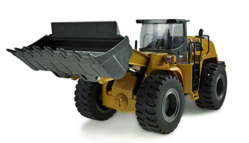 RC Auto kaufen Spielzeug Bild: Amewi 22343 Radlader 1:14, RTR, 10-Kanal, Ocker*