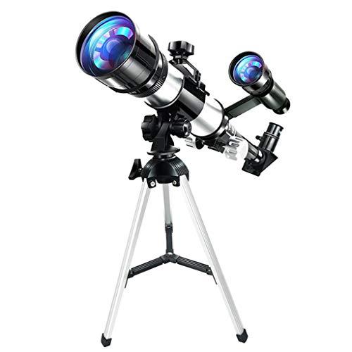MagiDeal Juego de Telescopio Reflector de Astronomía de Apertura Portátil de 70 Mm con Trípode para Niños Y Principiantes de Astronomía