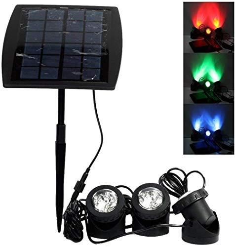 Solar LED Spot Tauchpumpe Wasserdicht Lampen Pumpe Weg in-sol Lichter für Außen Garten Pool Teich Beleuchtung Gartengestaltung
