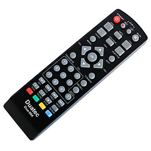 Ersatz Fernbedienung Auvisio PX-1177 / PX-1187 HD-Sat-Receiver/DSR 395U Mini - Plug & Play, Kabellos, Top Qualität