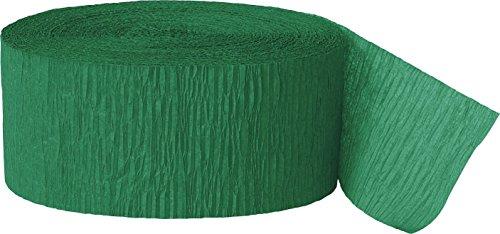 Unique Industries 6357 Decoration Party-Deko, Papier, smaragdgrün
