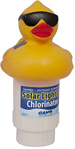 GAME 8002 Solar Light Up Duck Pool Chlorinator