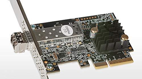 Sonnet Solo10G SFP + 10 Gigabit Ethernet Adaptador (SFP + [SR] Incluido) [Compatible con Thunderbolt]