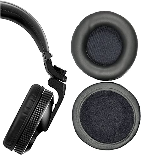 V-MOTA Earpads Compatible with Pioneer HDJ-X5 HDJ-X7 HDJ-X10 HDJ-X10-S Professional DJ Wireless HDJ X5 X7 X10 Bluetooth Headphones,Replacement Cushions Repair Part (1 Pair)