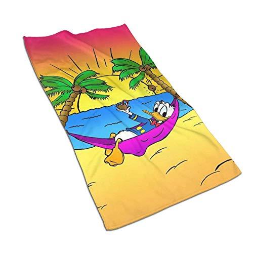 Aoyutiy Handdoeken - Donald Duck Beach Time Zachte en Absorberende handdoek 27.5