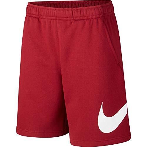Nike Sportswear Club Fleece Men's Shorts Team Red CW7388-677 (XL)