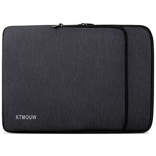 KTMOUW Funda Portatil 15-15,6 Pulgada Impermeable Funda Ordenador Notebook Tableta Maletin de Bolsa para MacBook Pro/ ASUS/HP/DELL/Lenovo/Acer