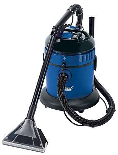 Draper 27889 20-Litre 1100W 230V Wet and Dry Shampoo/Vacuum Cleaner